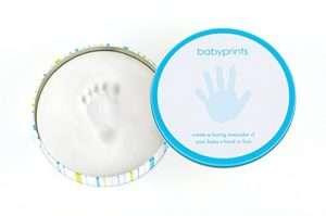 Regalo Scatola con baby impronta
