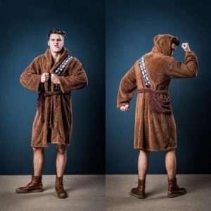 Idea regalo Accappatoio Star Wars  Chewbacca a 49 €