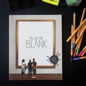 Idea regalo Album Da Disegno Fill In The Blank