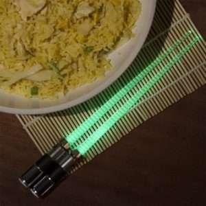 Idea regalo Bacchette Spada Laser di Star Wars – Yoda a 24 €