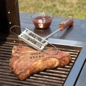 Idea regalo BBQ Branding Tool – marchiatore per bistecche a 17 €