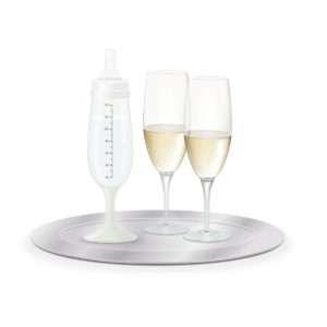Idea regalo Biberon / Calice da champagne