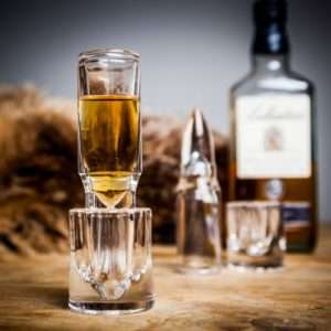 Idea regalo Bicchiere Bullet Shot Glass
