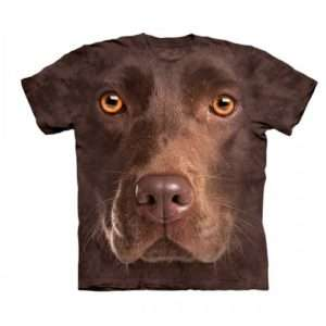 Idea regalo Big Face T-shirt Labrador – Medium a 29 €