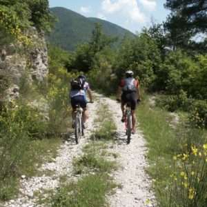 Idea regalo Escursione guidata in mountain bike con gita in eco battello – Terni