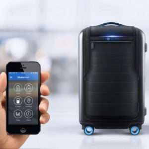 Idea regalo Bluesmart  valigia intelligente con GPS a 399 €