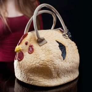 Idea regalo Borsa A Forma Di Gallina a 27 €