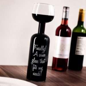 Idea regalo Bottiglia Bicchiere di vino