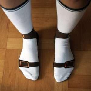 Idea regalo Calzini A Forma Di Sandali a 8 €