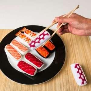 Idea regalo Calzini Sushi – Caviale rosso a 8 €