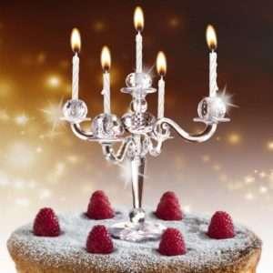 Idea regalo Candelabro Portacandele Per Torte