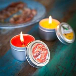 Idea regalo Candele Profumate Alternative  Stinky Candles – Pancetta