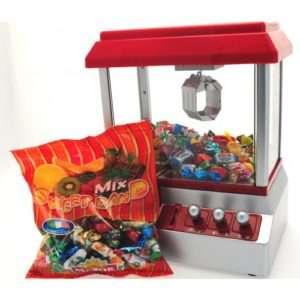 Idea regalo Candy Grabber con caramelle