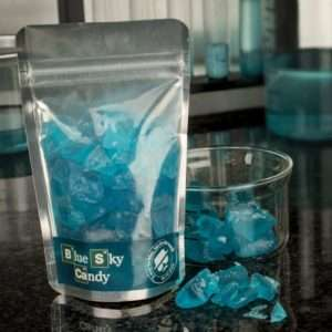 Idea regalo Caramelle alla menta Blue Sky Candy