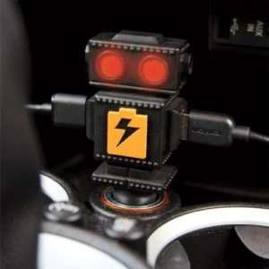 Idea regalo Carbot – caricabatterie USB doppio per auto