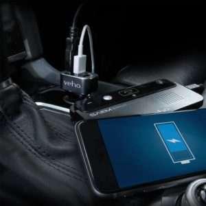 Idea regalo Caricatore triplo per auto Veho USB