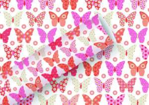 Regalo Carta da regalo Farfalle