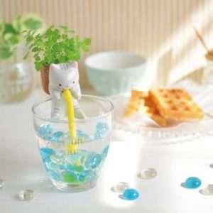 Idea regalo Chuppon  Animaletti porta piante – Gatto (Menta) a 13 €