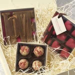 Idea regalo Cioccolata Amore – 9 Cuoricini Rosa a 10 €