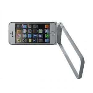 Idea regalo Cornice Di Protezione Multifunzione per iPhone 5/5S Fritzframe – Argento