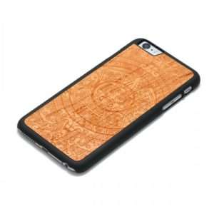 Idea regalo Cover Azteca in legno – iPhone 6 a 34 €