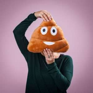 Idea regalo Cuscini Emoticon – Poop a 17 €
