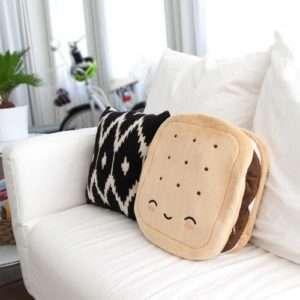 Idea regalo Cuscino Termico Biscotto al cioccolato – S'Mores a 44 €