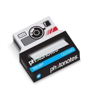 Idea regalo Dispenser di Post it – Macchina fotografica