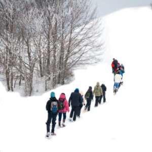 Idea regalo Escursione con racchette da neve – Umbria