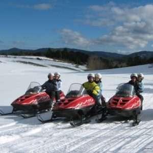 Idea regalo Prima esperienza in quad sulla neve – Sila, Calabria