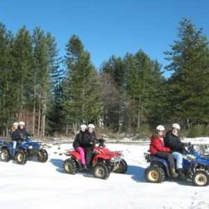 Idea regalo Escursione in quad sulla neve in coppia – Sila, Calabria a 50 €