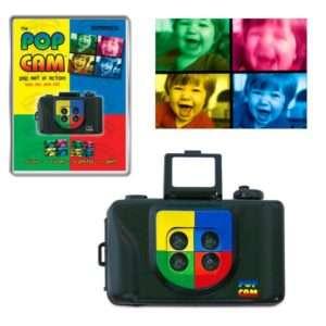 Idea regalo Fotocamera PopArt
