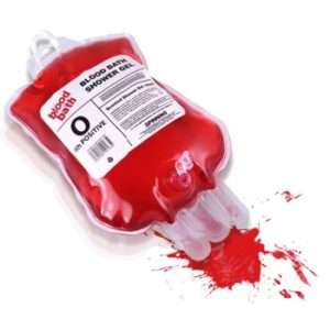 Regalo Gel doccia sacca di sangue