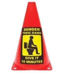 Regalo Segnale gas tossici