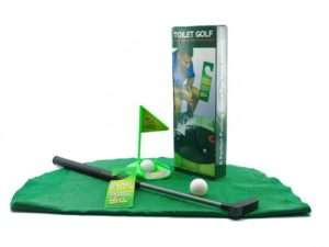 Regalo Set da golf per il bagno – Un perfetto sostituto del giornale