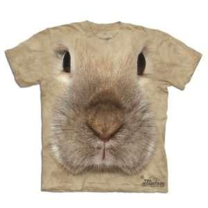 Idea regalo Maglietta Big Face 3D – Coniglio