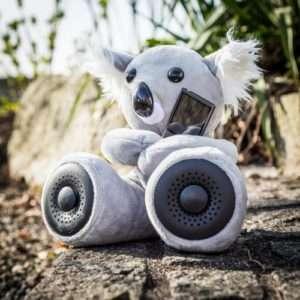 Idea regalo Hi-Fun Koala – Peluche con casse – Grigiore a 29 €