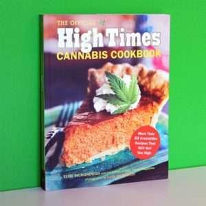 Idea regalo High Times  libro di cucina della Cannabis a 19 €