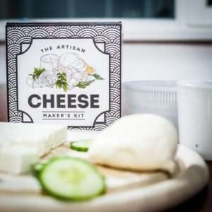 Idea regalo Kit Formaggio Fai Da Te – The Artisan Cheese Maker a 32 €