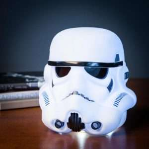 Idea regalo Lampada Casco Star Wars – Stormtrooper a 39 €