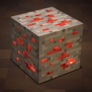Idea regalo Lampada da tavolo Minecraft