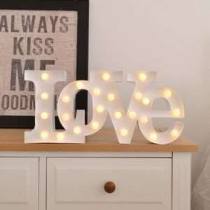 Idea regalo Lampada LED  Love