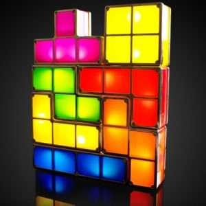 Idea regalo Lampada Tetris a 29 €