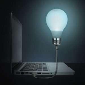 Regalo Bright Idea – Lampada USB