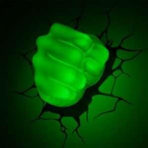 Idea regalo Lampade da muro 3D  Avengers – Pugno di Hulk a 39 €