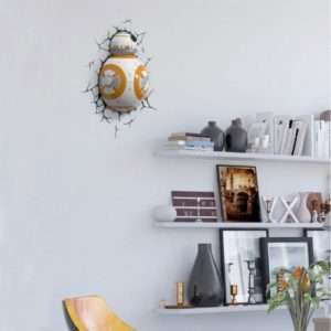 Idea regalo Lampade da muro 3D Star Wars – BB-8 a 49 €
