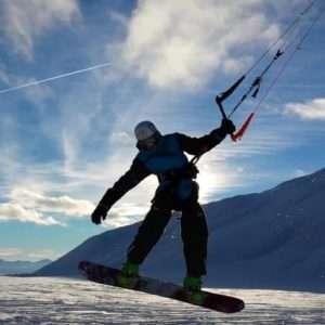 Idea regalo Lezioni individuali di Snowkite – Valle d`Aosta a 149 €