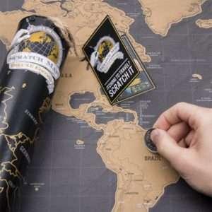 Idea regalo Mappa del mondo da grattare Deluxe a 29 €