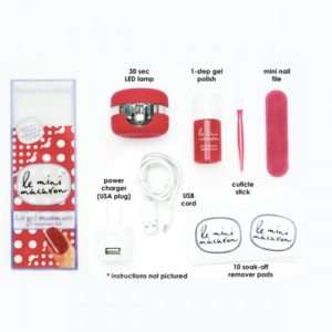 Idea regalo Mini Kit Manicure Macaron – Ciliegia