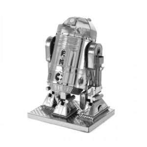 Idea regalo Modelli 3D di Star Wars in metallo – R2-D2